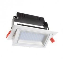 Projecteur magasin rectangle 20W Blanc