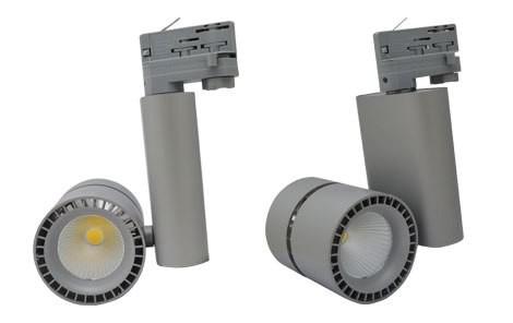Spot sur rail technique LED 40W