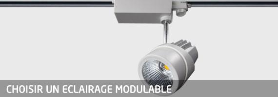 eclairage modulable
