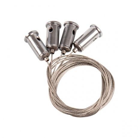Kit de suspension par câble pour dalle LED