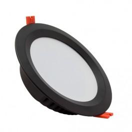 Plafonnier LED Noir25W