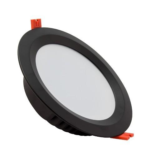 Plafonnier LED Noir 30W