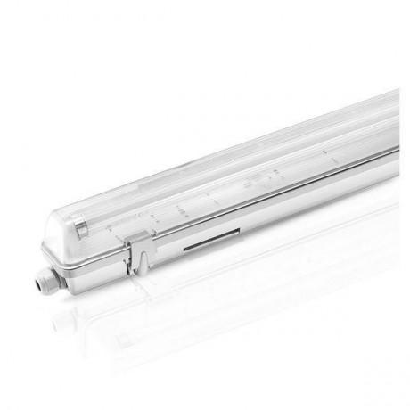 Réglette étanche pour tubes LED 60cm