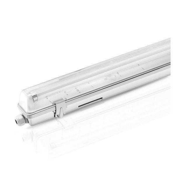 Réglette étanche 120cm pour tubes à Led