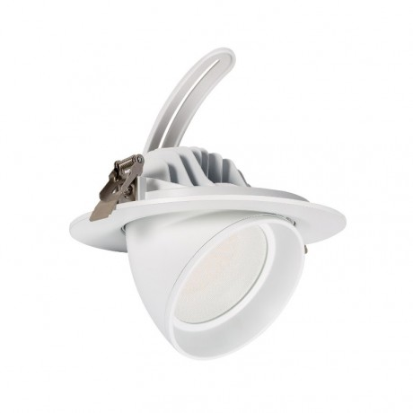 spot-led-vitrine-orientable-40w Blanc