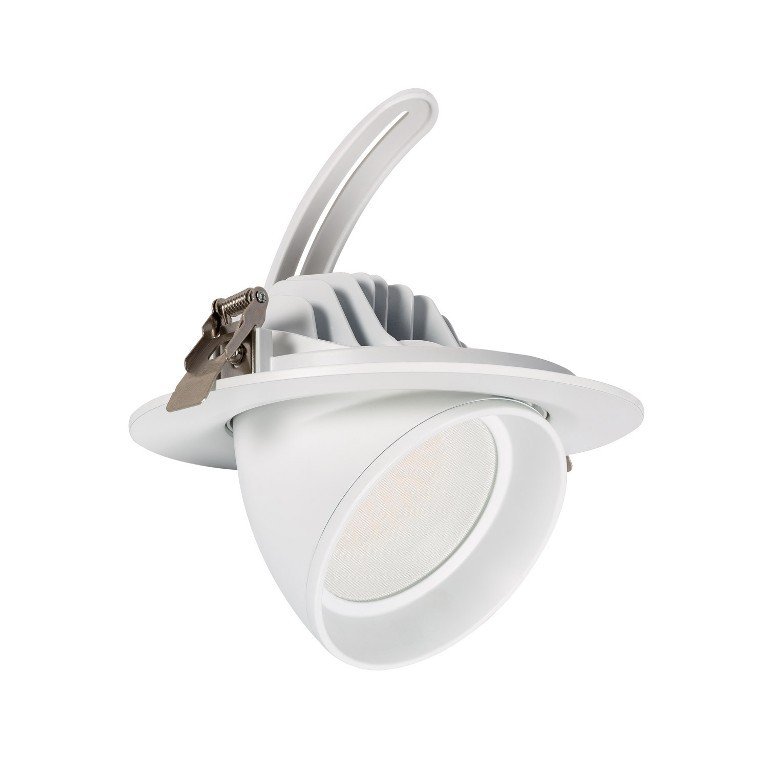 Spot 40W LED - Blanc - Diam 195mm
