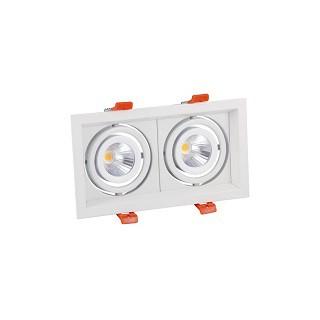 Encastré LED 2 spots 2X10W