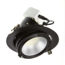 Spot 40W LED - Noir - Diam 195mm