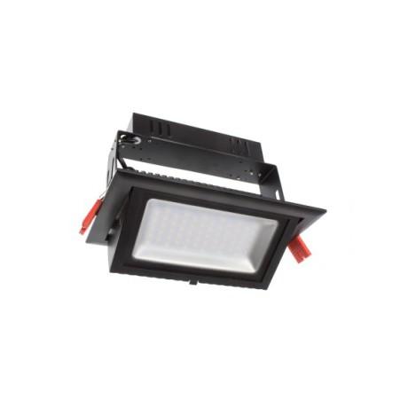 Projecteur LED rectangulaire pour commerces 30W - Noir