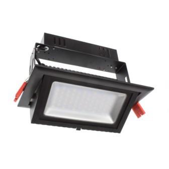 Projecteur LED magasin 50W - Noir
