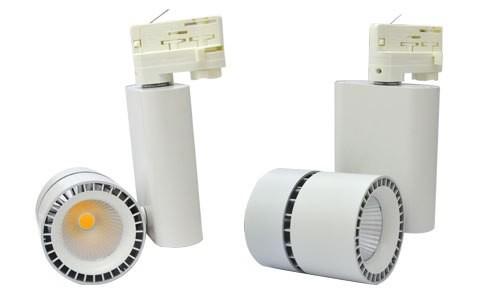 Spot sur rail LED 28W - Blanc chaud