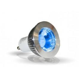 GU10 LED COULEUR 5W bleu