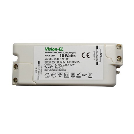 Alimentation LED 10W 12V DC