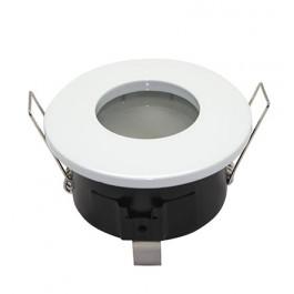 Support spot plafond étanche salle de bains