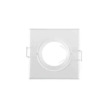 Supports de spot carré blanc 84X84