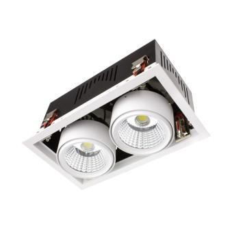 Encastré de plafond rectangle 60W LED
