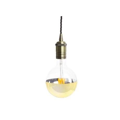 Lampe suspension BRONZE
