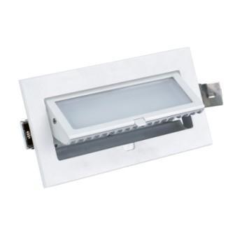Projecteur encastré vitrine 15W LED