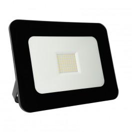 Projecteur extra-plat exterieur 50W Noir
