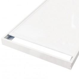 cadre aluminium laqué pour dalle led