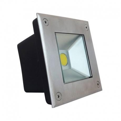 spot LED extérieur encastrable inox 3W