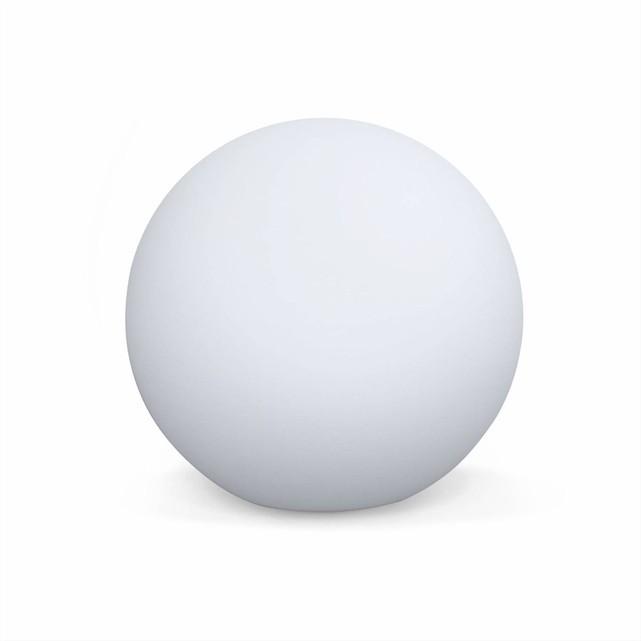 Boule lumineuse solaire LED - 26cm